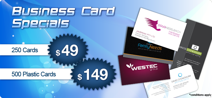 Business Card Specials